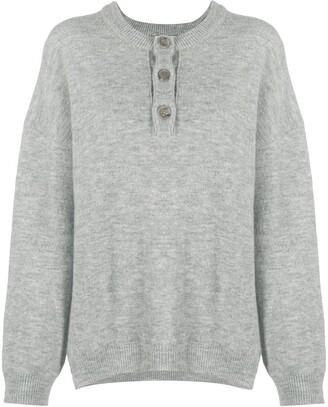 Nanushka Long-Sleeve Knitted Top