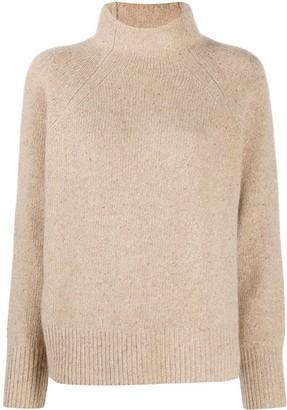 Vince Donegal turtleneck cashmere jumper