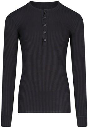Dolce & Gabbana Long-Sleeved Crewneck Top