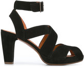 Chie Mihara Ghanaante sandals - women - Calf Leather/Leather/Suede - 36