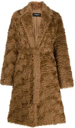 Rochas Shaggy Robe Coat