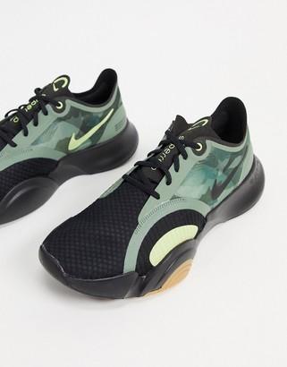 Nike Training SuperRep Go sneakers in khaki