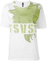 Versus logo print T-shirt - women - Cotton - XS