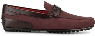 Tod's x Ferrari City Gommino loafers