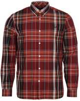 Fred Perry Shirt Regimental Tartan M3525-A25 Rich Red