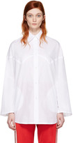 MM6 MAISON MARGIELA White Poplin Shirt