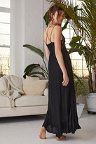 Free People Fp One FP One Adella Maxi Slip by FP One at Free People, Black, XS