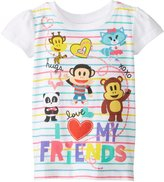 Freeze Little Girls' Julius Jr I Love My Friends Girls T-Shirt