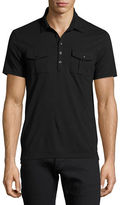 John Varvatos Pocket Polo Shirt