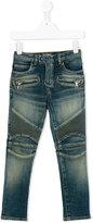 Balmain Kids zipped pockets jeans