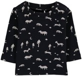 Imps & Elfs Organic Cotton Animals Allover Sweatshirt
