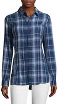 Hudson Women's Britt Plaid Button-Front Shirt