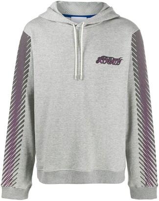 Koché Phoenix Embroidered Hooded Sweatshirt