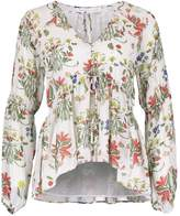 Endless Rose FRONT BUTTON BABY DOLL Blouse multicoloured