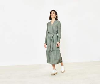Oasis Printed Shirt Dress