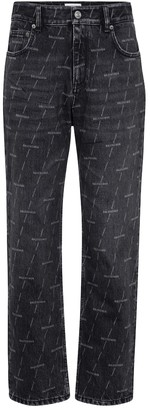 Balenciaga Mid-rise cropped jeans
