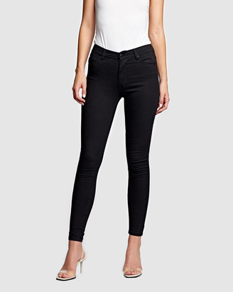 RES Denim Women's Black Skinny - Kitty Skinny Jeans - Size One Size, 24 at The Iconic