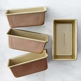 Williams-Sonoma Williams Sonoma Copper Goldtouch® Nonstick Mini Loaf Pans, Set of 4
