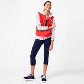 J.Crew Colorblock varsity zip hoodie