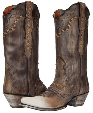 Dan Post Amore (Chocolate Leather) Women's Boots