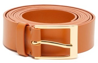 Roksanda Double-wrapped Leather Belt - Womens - Tan