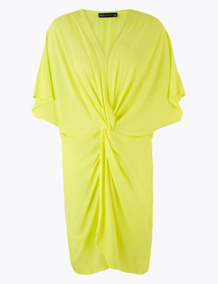 Marks and Spencer Twist Front Cover Up Kaftan
