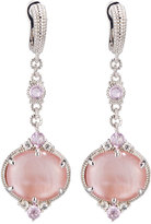Judith Ripka Allure Pink Mother-of-Pearl Doublet Drop Earrings