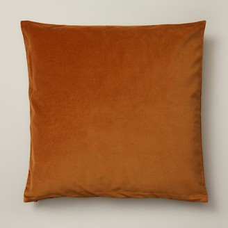"Oui Velvet Pillow Cover Goldenrod 20"" X 20"""