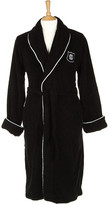 Gant Men's Black Crest Logo Robe