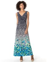 Chaps Women's Floral Empire Maxi Dress