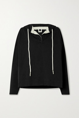 Bassike + Net Sustain Organic Cotton-jersey Hoodie - Black