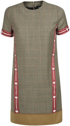 DSQUARED2 Short Back Zip Dress