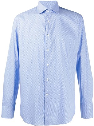 Canali Long-Sleeved Button Down Shirt
