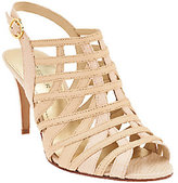 Marc Fisher As Is Leather Open-toe Heeled Sandals - Nalora