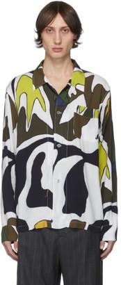 Our Legacy Multicolor Table Swordfish Print Shirt
