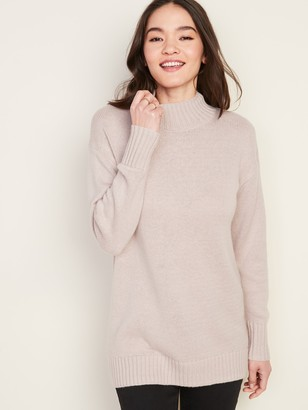 Old Navy Slouchy Mock-Neck Tunic Sweater for Women