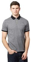 Red Herring Grey Diamond Patterned Polo Shirt