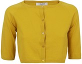 Max Mara Mustard Cotton Cardigan