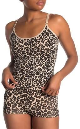 Me Moi MEMOI Leopard Print Shaping Camisole