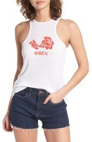 Obey Women's Flower Graphic Tank
