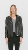 Alexander Wang Oversized Motorcycle Jacket