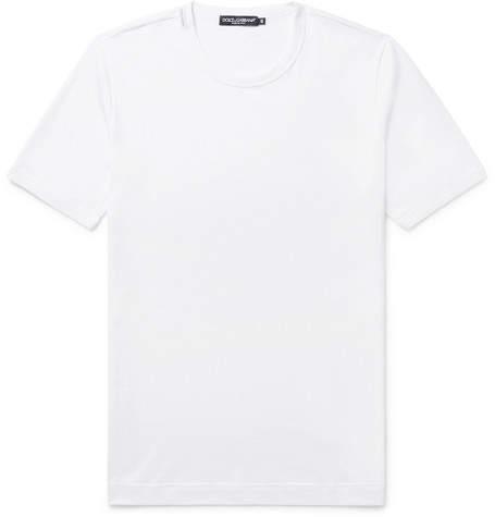Dolce & Gabbana Slim-Fit Cotton-Jersey T-Shirt