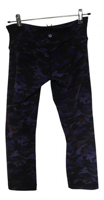 Lululemon Multicolour Spandex Trousers