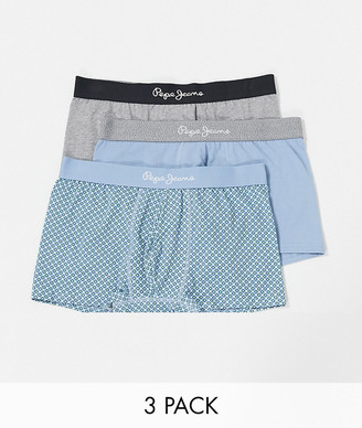 Pepe Jeans daniel 3 pack trunks