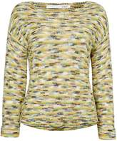 Oui Multi textured jumper