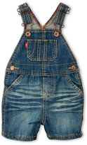 Levi's Newborn Boys) Denim Overalls