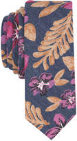 Penguin Men's Painted Floral Skinny Tie