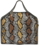 Stella McCartney Falabella snake-embossed faux leather shoulder bag