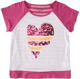 Design History Striped Sequins Top (Toddler/Kid) - Mod Pink-4T