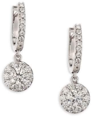 Hearts On Fire Fulfillment Diamond Drop Earrings